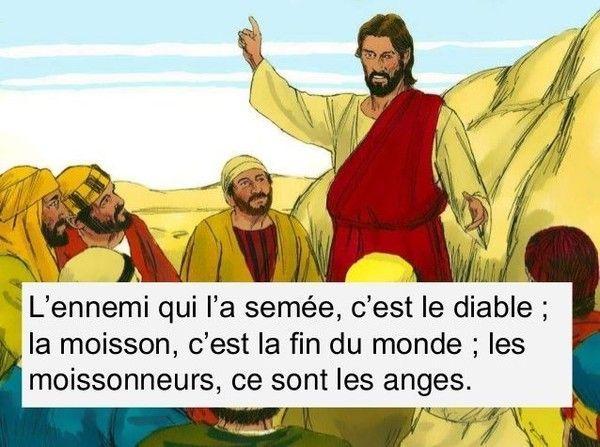 Celui qui sème le bon grain, c'est le Fils de l'homme ;